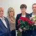 W pożegnaniu Pani Krystyny uczestniczyło wiele osób - w tym szefostwo i współpracownicy.